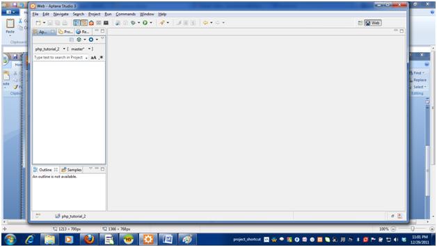 aptana studio 3 tutorial php pdf