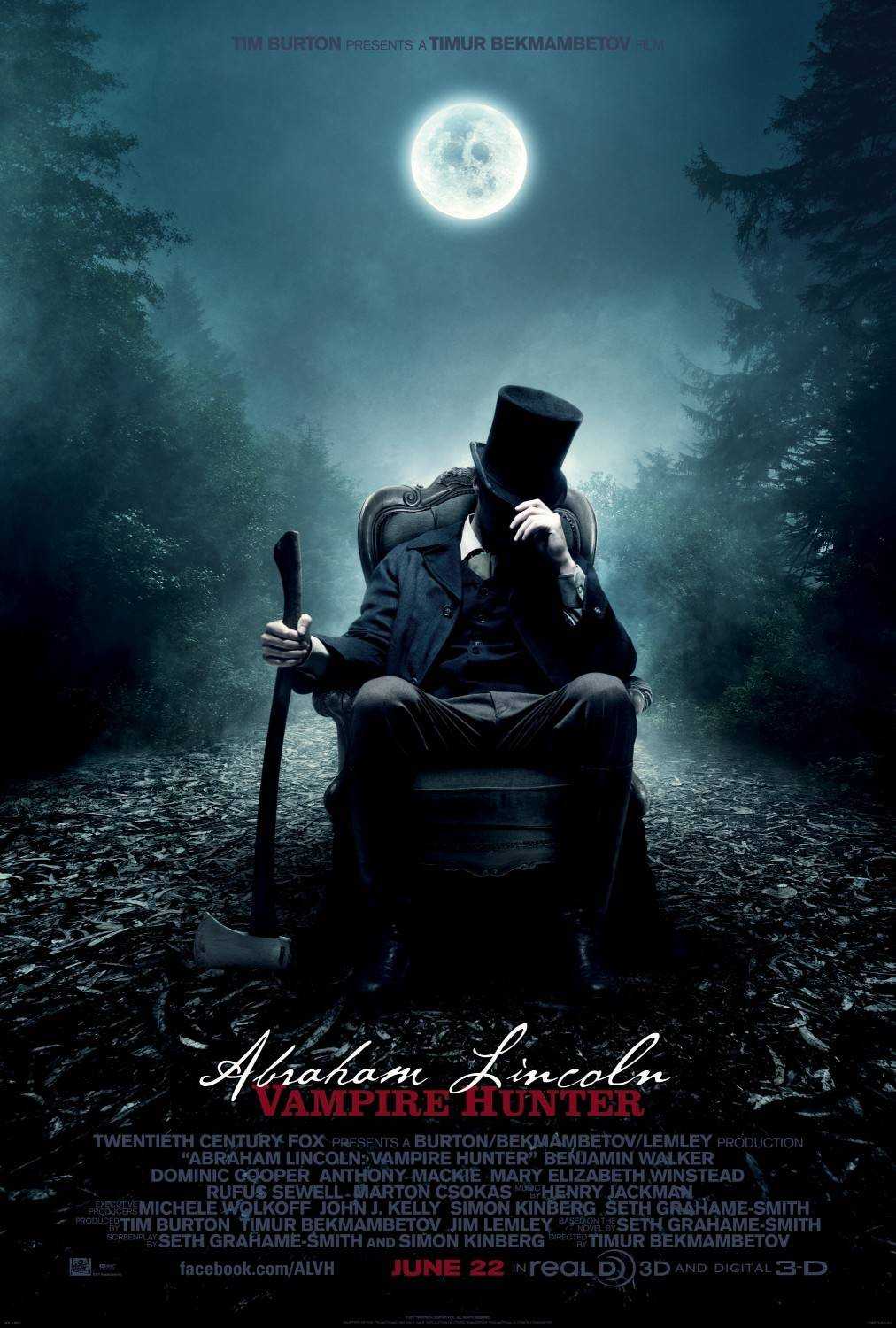 Abraham Lincoln: Vampire Hunter (film) - Wikipedia, the free encyclopedia